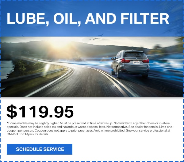 BMW Vehicle Service Coupons