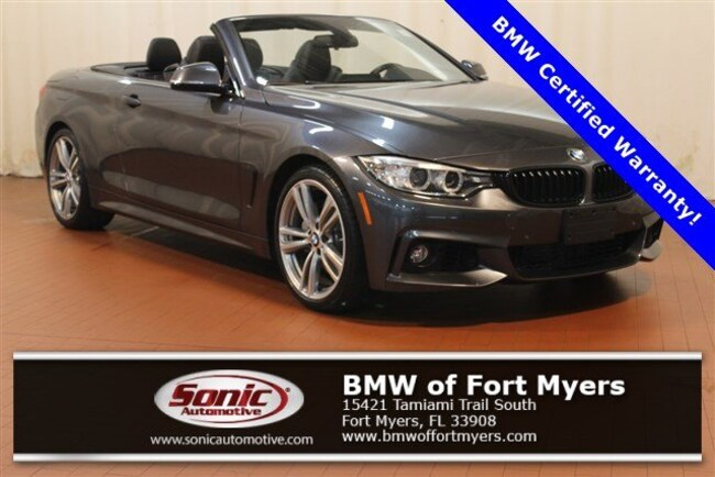 Certified 2016 BMW 435i Convertible in Fort Myers, FL