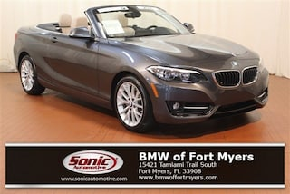 Certified 2016 BMW 228i xDrive Convertible in Fort Myers