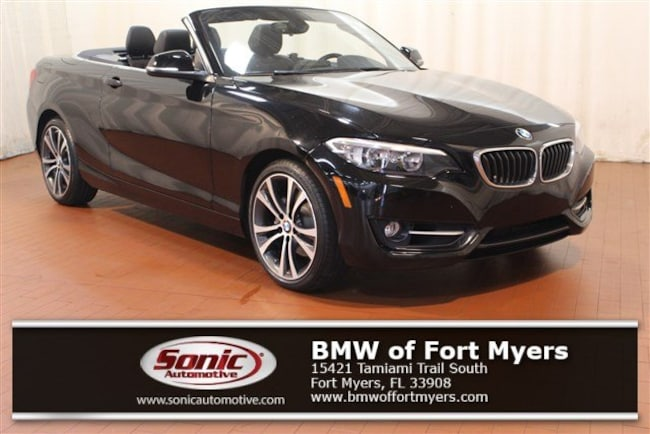 Certified Pre-Owned 2016 BMW 228i Convertible for sale in Fort Myers, FL