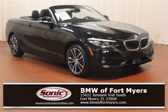 Certified 2018 BMW 230i Convertible in Fort Myers, FL