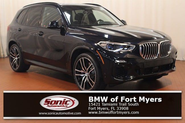 New 2019 BMW X5 xDrive40i SAV in Fort Myers, FL