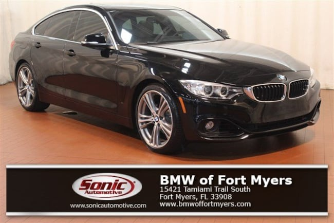 Certified 2016 BMW 428i w/SULEV Gran Coupe in Fort Myers, FL