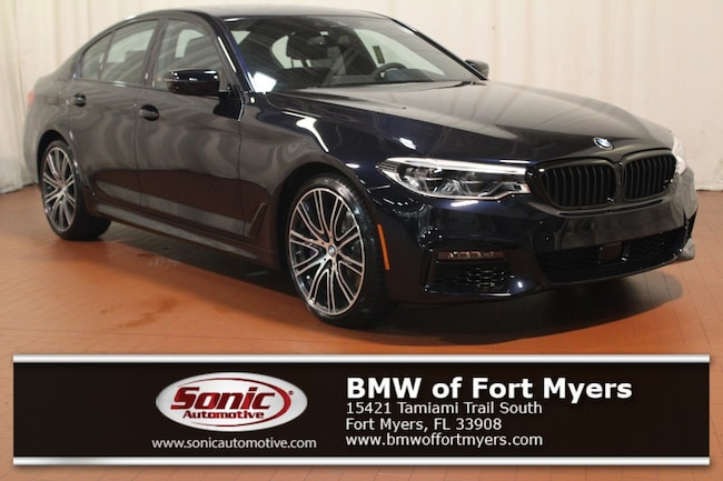 New 2019 BMW 540i xDrive Sedan in Fort Myers, FL