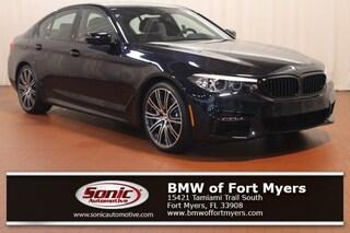 New 2019 BMW 540i Sedan in Fort Myers, FL