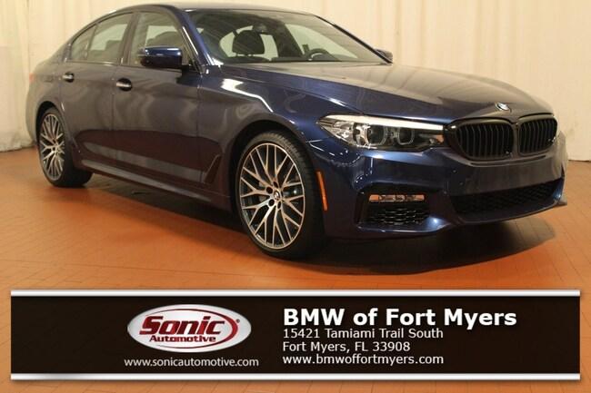 New 2018 BMW 530e iPerformance Sedan in Fort Myers, FL