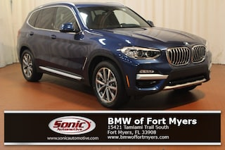 New 2019 BMW X3 xDrive30i SAV in Fort Myers, FL