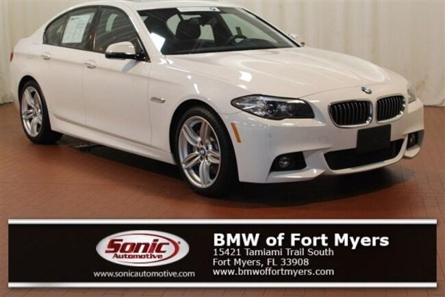 Certified 2016 BMW 535i xDrive Sedan in Fort Myers, FL