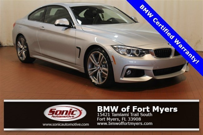 Certified 2017 BMW 440i Coupe in Fort Myers, FL