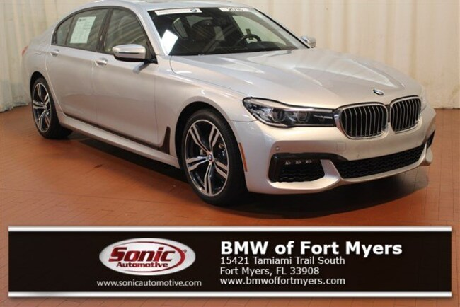 Certified Pre-Owned 2016 BMW 740 Sedan for sale in Fort Myers, FL