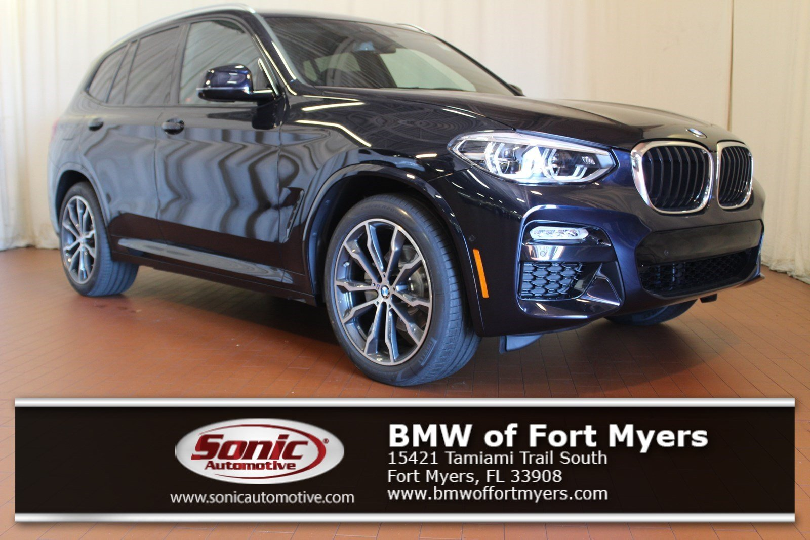 New 2019 BMW X3 sDrive30i SAV in Fort Myers