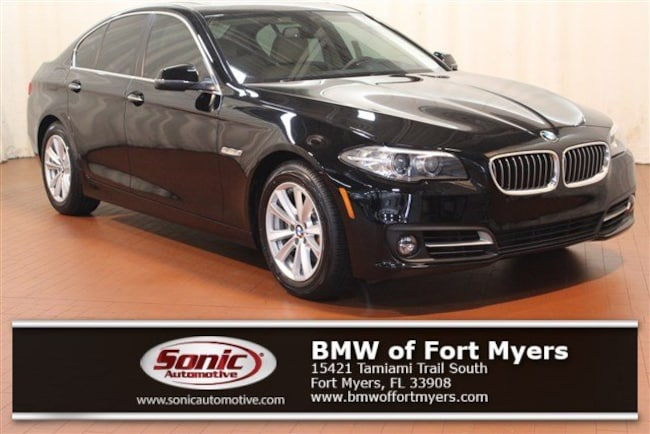 Certified 2016 BMW 528i Sedan in Fort Myers, FL