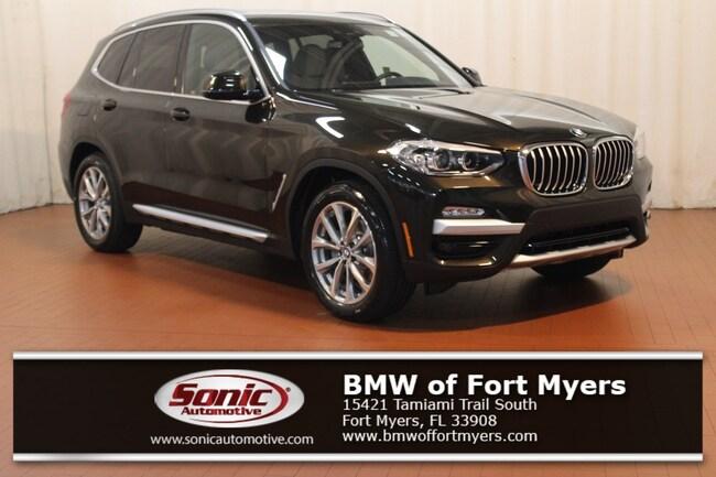 New 2019 BMW X3 xDrive30i SAV in Fort Myers, FL