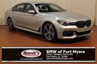 New 2019 BMW 740i Sedan in Fort Myers, FL