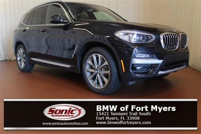 New 2019 BMW X3 sDrive30i SAV in Fort Myers, FL