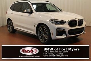 New 2019 BMW X3 M40i SAV in Fort Myers, FL