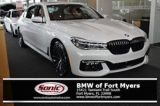 New 2019 BMW 750i Sedan in Fort Myers, FL