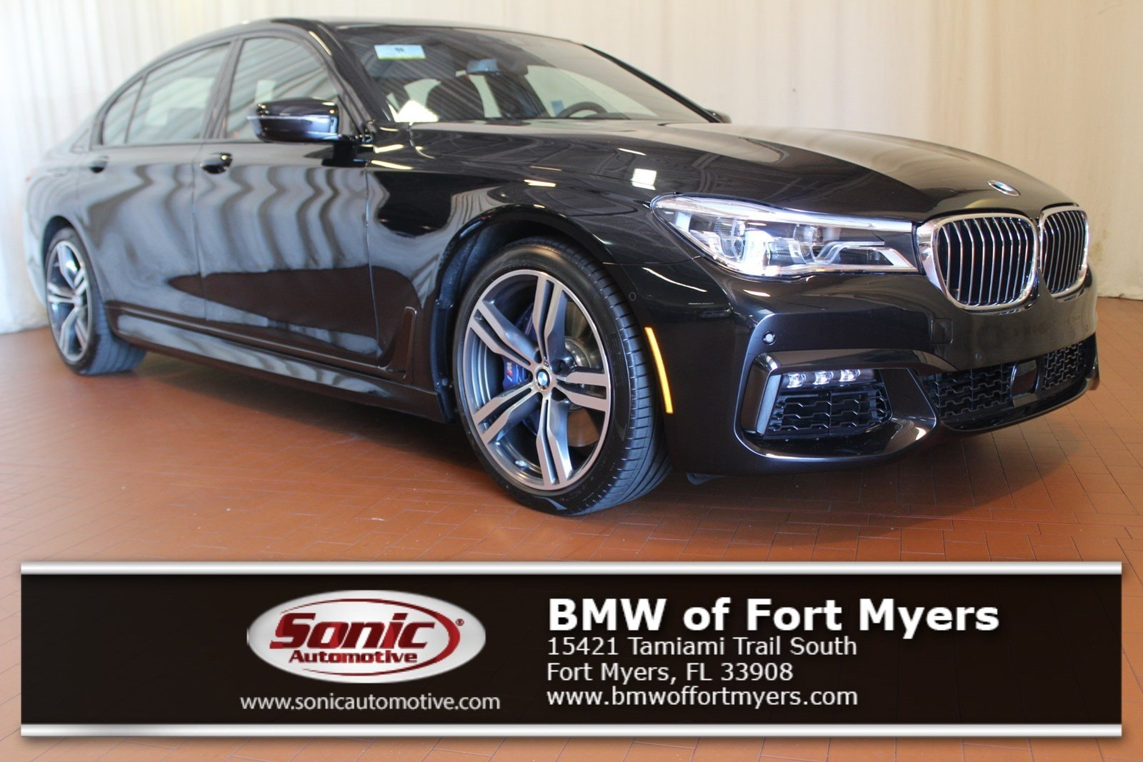 New 2019 BMW 750i Sedan in Fort Myers