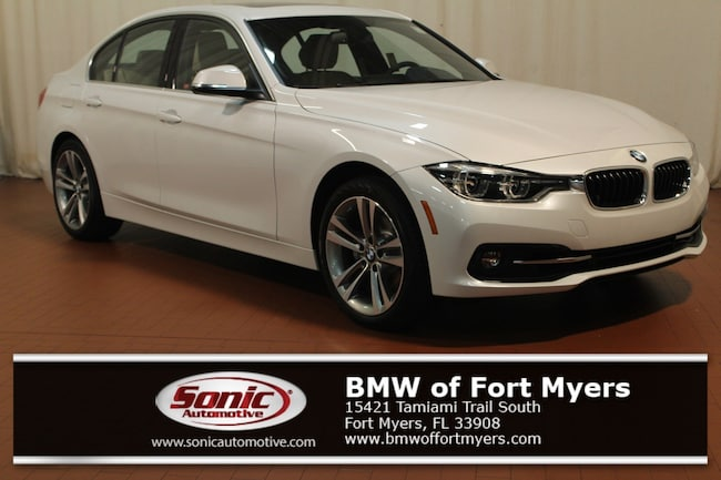 New 2018 BMW 330i Sedan in Fort Myers, FL