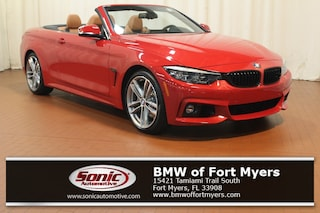 New 2019 BMW 440i Convertible in Fort Myers, FL