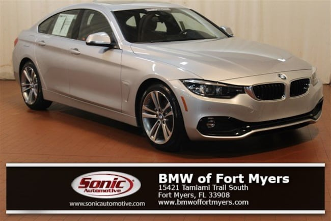 Certified 2019 BMW 430i Gran Coupe in Fort Myers, FL