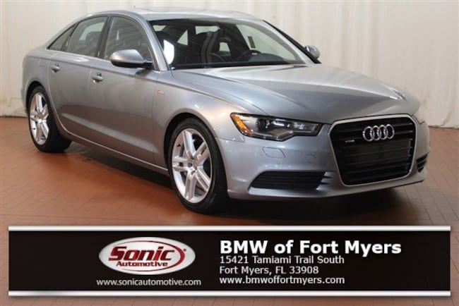 Used 2014 Audi A6 3.0T Sedan for sale in Fort Myers, FL