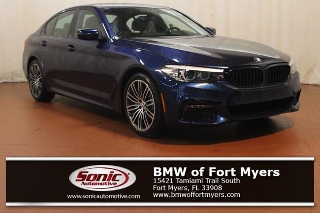 New 2019 BMW 530i 530i Sedan in Fort Myers, FL