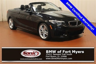 Used 2016 BMW 228i Convertible in Fort Myers