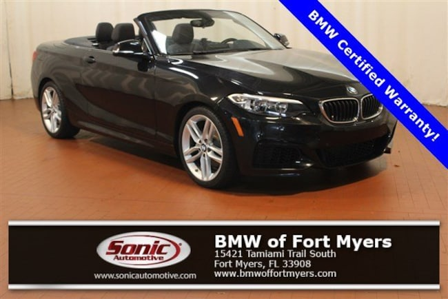 Certified 2016 BMW 228i Convertible in Fort Myers, FL