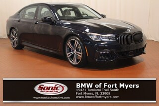 New 2019 BMW 740i 740i Sedan in Fort Myers, FL