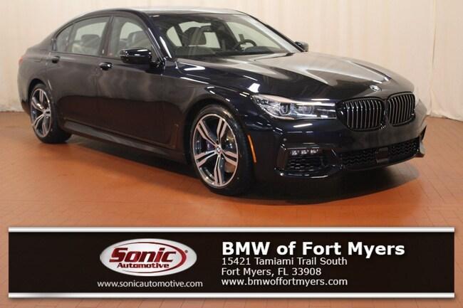 New 2019 BMW 740i 740i Sedan in Fort Myers, FL