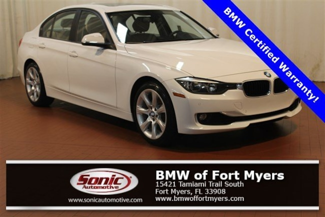 Certified 2015 BMW 328i Sedan in Fort Myers, FL