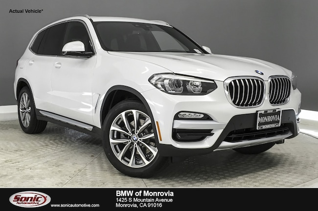 New 2019 BMW X3 sDrive30i SAV near Los Angeles