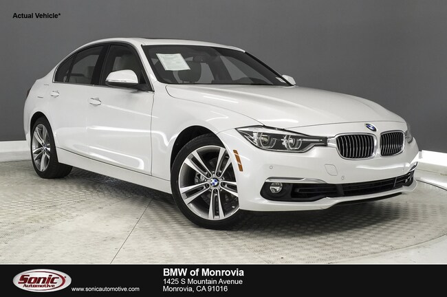 Certified 2016 BMW 328i w/SULEV Sedan in Los Angeles