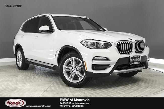 New 2019 BMW X3 sDrive30i SAV near Los Angeles