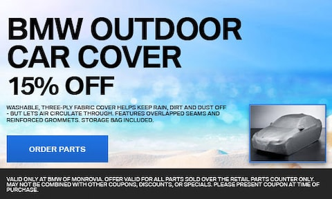 BMW Outdoor Car Cover