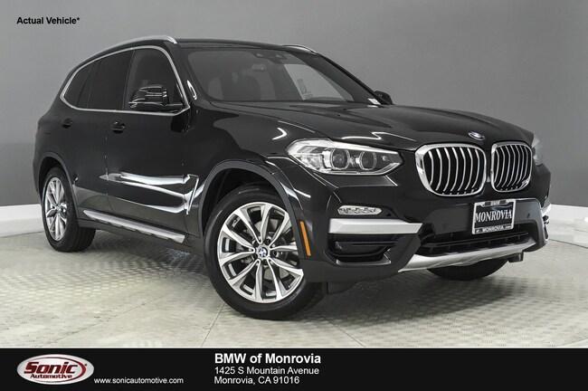 Used 2019 BMW X3 sDrive30i SAV near Los Angeles
