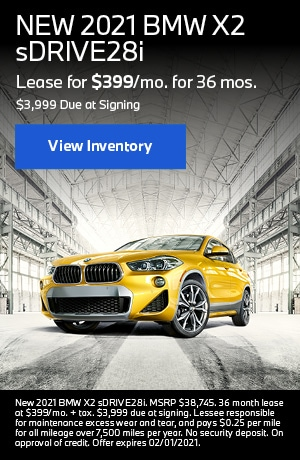 NEW 2021 BMW X2 sDRIVE28i