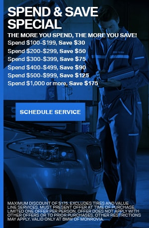 Spend & Save Special