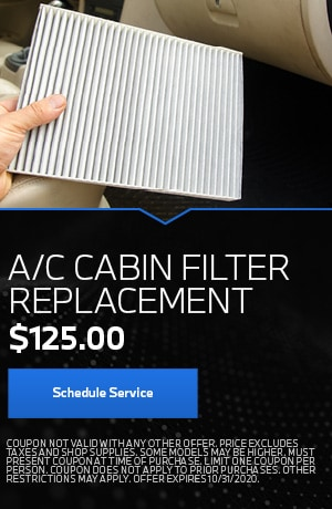 A/C Cabin Filter Replacement