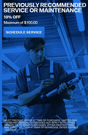 Previously Recommended Service or Maintenance