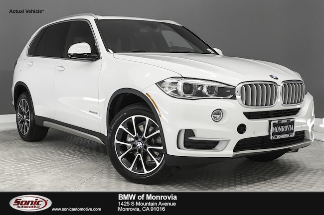 New 2018 BMW X5 sDrive35i SAV near Los Angeles