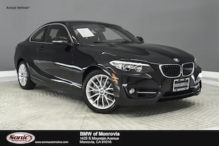 Certified 2016 BMW 228i w/SULEV Coupe in Los Angeles
