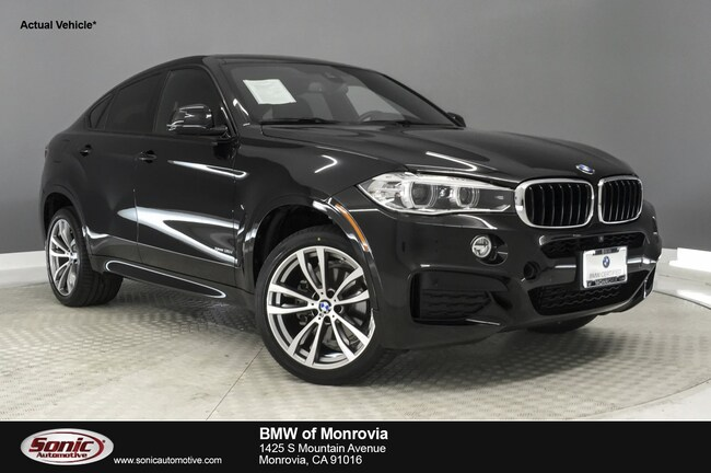 certified 2016 bmw x6 for sale near los angeles ca | stock