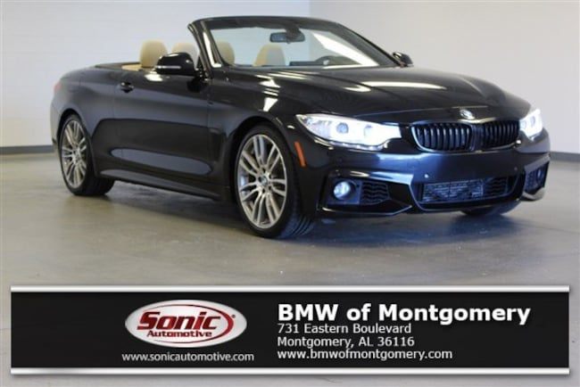 Certified Used 2015 BMW 428i Convertible in Montgomery