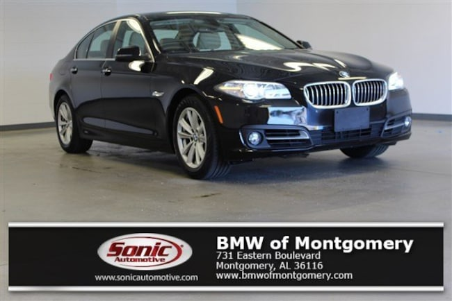 Certified Used 2016 BMW 528i Sedan in Montgomery