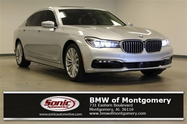 Certified Used 2017 BMW 740i Sedan in Montgomery