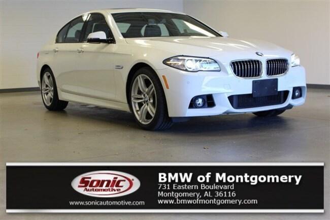 Used 2016 BMW 535i Sedan in Montgomery