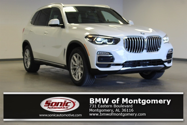 New 2019 BMW X5 xDrive40i SAV in Montgomery, AL