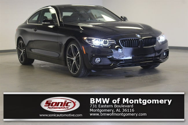 New 2019 BMW 430i Coupe in Montgomery, AL